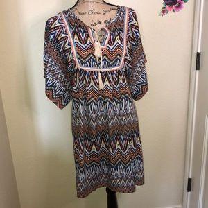 🎇New this Month: Ya Tribal Boho Dress